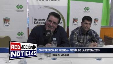 Photo of Redacción Noticias    FIESTA DE LA ESTEPA PATAGONICA 2019 – DANIEL NICOLIA – LAS HERAS SANTA CRUZ