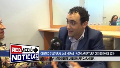 Photo of Redacción Noticias |  INTENDENTE JOSE MARIA CARAMBIA – LAS HERAS SANTA CRUZ 2/2