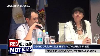 Photo of Redacción Noticias    APERTURA DE SESION 2019 – CARAMBIA -LAS HERAS SANTA CRUZ 2/2