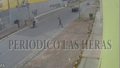 Photo of Redacción Noticias |  (VIDEO) Cámara de seguridad registró una pelea en plena vía pública