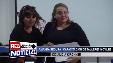 Photo of Redacción Noticias |  AMANDA SEGURA – TALLERES MOVILES EN CIC ALICIA KIRCHNER – LAS HERAS SANTA CRUZ