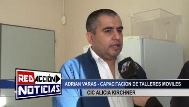 Photo of Redacción Noticias |  TALLERES MOVILES CIC ALICIA KIRCHNER – LAS HERAS SANTA CRUZ