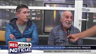 Photo of Redacción Noticias |  AVANZAN LAS OBRAS EN EL TRINQUETE DE PELOTA PALETA