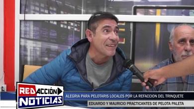 Photo of Redacción Noticias |  AVANZAN LAS OBRAS EN EL TRINQUETE DE PELOTA PALETA – LAS HERAS SANTA CRUZ