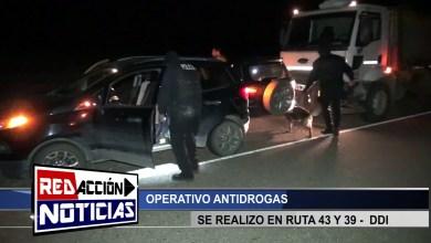 Photo of Redacción Noticias |  OPERATIVO ANTIDROGAS – LAS HERAS SANTA CRUZ