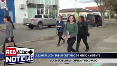 Photo of Redacción Noticias |  SUB SEC. DE MEDIO AMBIENTE JULIAN SAUCO – LAS HERAS SANTA CRUZ