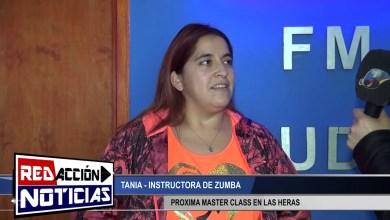 Photo of Redacción Noticias |  TANIA INSTRUCTORA DE ZUMBA – LAS HERAS SANTA CRUZ