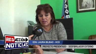 Photo of Redacción Noticias |  LAURA BILBAO – PROYECTO ¨DESFIBRILADOR EXTERNO¨ – LAS HERAS SANTA CRUZ