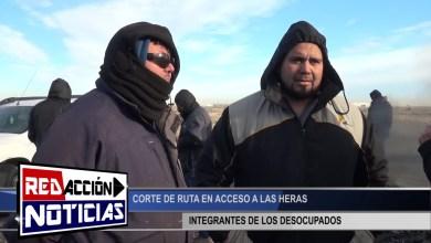 Photo of Redacción Noticias |  CORTE DE RUTA EN ACCESO – LAS HERAS SANTA CRUZ