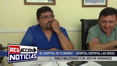 Photo of Redacción Noticias    PABLO MALDONADO Y DR  HERNANDEZ – LAS HERAS SANTA CRUZ