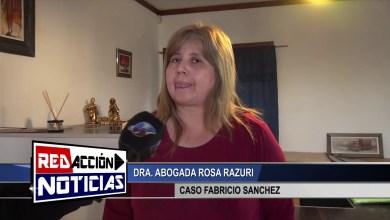 Photo of Redacción Noticias |  DRA RAZURI – CASO FABRICIO SANCHEZ – LAS HERAS SANTA CRUZ