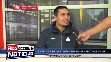 Photo of Redacción Noticias |  JUAN SEPULVEDA PROFESOR DE LA ESCUELA MUNICIPAL DE VOLEY – LAS HERA SANTA CRUZ