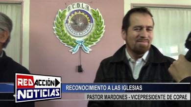 Photo of Redacción Noticias |  RECONOCIMIENTO A IGLESIA EVANGELICA – LAS HERAS SANTA CRUZ