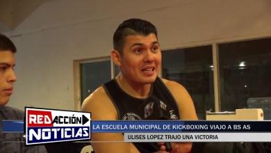 Photo of Redacción Noticias    EL KICKBOXISTA ULISES LOPEZ OBTUVO UNA IMPORTANTE VICTORIA EN BS AS – LAS HERAS SANTA CRUZ