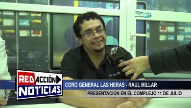 Photo of Redacción Noticias |  RAUL MILLAR – COMPLEJO DEPORTIVO MUNICIPAL – LAS HERAS SANTA CRUZ