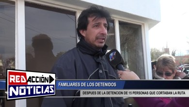 Photo of Redacción Noticias |  FAMILIARES DE LOS DETENIDOS – SEC 1RA – LAS HERAS SANTA CRUZ