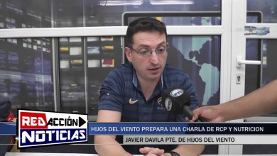 Photo of Redacción Noticias    ESTE SÁBADO CHARLA DE NUTRICIÓN DEPORTIVA Y RCP – LAS HERAS SANTA CRUZ