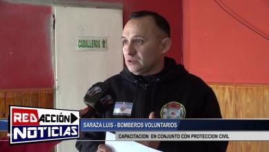 Photo of Redacción Noticias    BOMBEROS VOLUNTARIOS – CAPACITACION EN CONJUNTO CON PROTECCION CIVIL – LAS HERAS SANTA CRUZ
