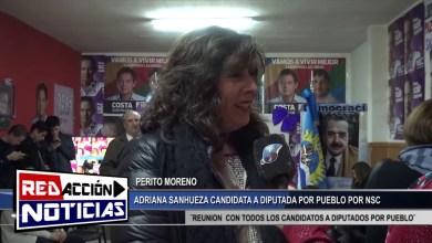 Photo of Redacción Noticias |  ADRIANA SANHUEZA CAND. A DIP. POR PUEBLO DE PERITO MORENO – LAS HERAS SANTA CRUZ