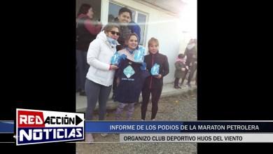 Photo of Redacción Noticias |  SINTESIS Y PODIOS DE LA MARATON DE LA AGRUPACION PETROLERA – LAS HERAS SANTA CRUZ