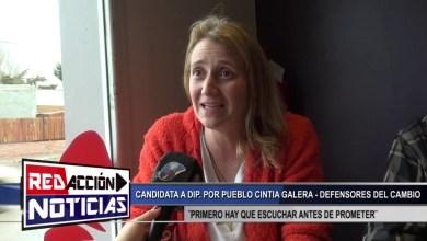 Photo of Redacción Noticias |  CINTIA GALERA CADIDATA A DIP. POR PUEBLO – LAS HERAS SANTA CRUZ