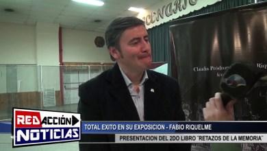 Photo of Redacción Noticias |  FABIO RIQUELME ESCRITOR – EXPOSICION DEL 2DO LIBRO ¨RETAZOS DE LA MEMORIA¨