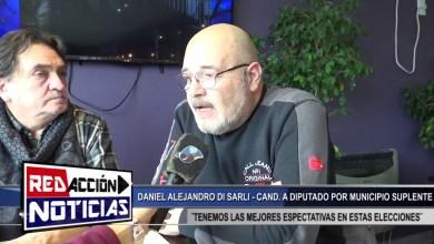 Photo of Redacción Noticias |  DI SARLI CANDIDATO SUPLENTE POR MUNICIPIO – LAS HERAS SANTA CRUZ