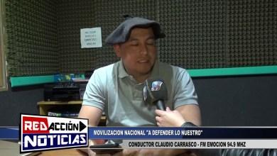 Photo of Redacción Noticias    CONDUCTOR DE FM EMOCION 94.9 MHZ CLAUDIO CARRASCO – MOVILIZACION  NACIONAL