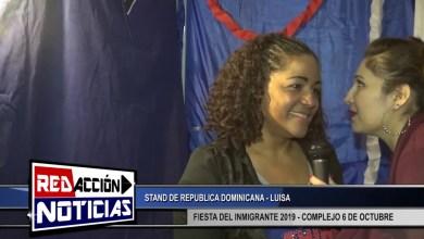 Photo of Redacción Noticias    FIESTA DEL INMIGRANTE 2019 – RESIDENTES DE REPUBLICA DOMINICANA – LAS HERAS SANTA CRUZ