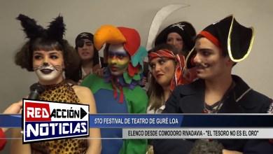 Photo of Redacción Noticias |  5TO FESTIVAL DE TEATRO GURÉ LOA – LAS HERAS SANTA CRUZ