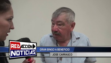 Photo of Redacción Noticias |  JOSE CARRASCO EN EL GRAN BINGO A BENEFICIO – LAS HERAS SANTA CRUZ
