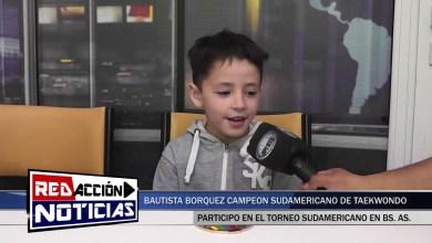 Photo of Redacción Noticias |  BAUTISTA BORQUEZ  CAMPEON SUDAMERICANO DE TAEKWONDO – LAS HERAS SANTA CRUZ