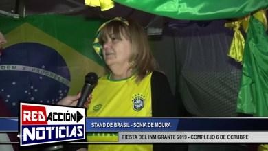 Photo of Redacción Noticias |  FIESTA DEL INMIGRANTE 2019 – STAND DE BRASIL – LAS HERAS SANTA CRUZ