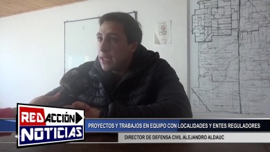 Photo of Redacción Noticias |  LAS HERAS SANTA CRUZ DIRECTOR DE DEFENSA CIVIL ALEJANDRO ALDAUC