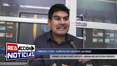 Photo of Redacción Noticias |  AMMANUEL OJEDA – ALIMENTACION CONCIENTE – LAS HERAS SANTA CRUZ