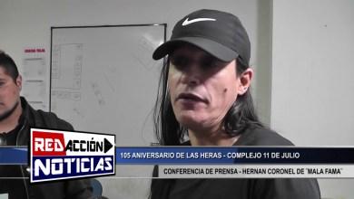 Photo of Redacción Noticias    HERNAN CORONEL DE ¨MALA FAMA¨ – LAS HERAS SANTA CRUZ