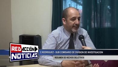 Photo of Redacción Noticias |  DIVISION DE INVESTIGACION – SUB COMISARIO RODRIGUEZ – LAS HERAS SANTA CRUZ