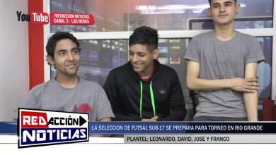 Photo of Redacción Noticias |  SELECCIÓN DE FUTSAL SUB 17 – LEONARDO, DAVID, JOSÉ Y FRANCO  LAS HERAS SANTA CRUZ