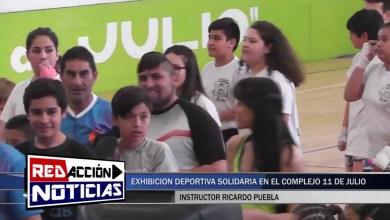 Photo of Redacción Noticias    EXHIBICIÓN DEPORTIVA SOLIDARIA EN LAS HERAS – SANTA CRUZ
