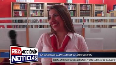 Photo of Redacción Noticias |  SELENA CARRIZO DIRECTORA MUSICAL DE «TU VOZ EL COLECTIVO DEL CANTO» LAS HERAS SANTA CRUZ