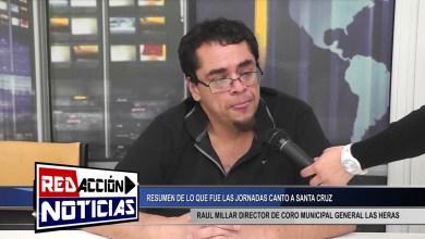 Photo of Redacción Noticias |  RAUL MILLAR DIRECTOR DE CORO MUNICIPAL GENERAL LAS HERAS SANTA CRUZ