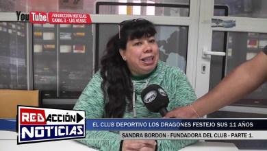 Photo of Redacción Noticias |  11 AÑOS DEL CLUB LOS DRAGONES   SANDRA BORDON   PARTE 1 – LAS HERAS SANTA CRUZ
