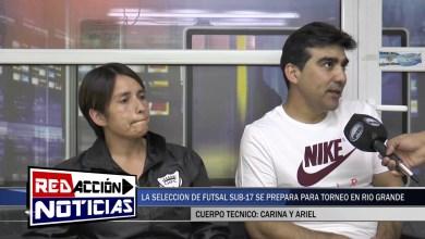 Photo of Redacción Noticias |  SELECCIÓN DE FUTSAL SUB 17 – CARINA Y ARIEL – LAS HERAS SANTA CRUZ