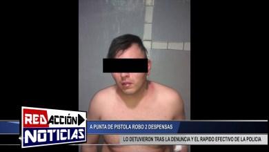 Photo of Redacción Noticias |  ROBO A MANO ARMADA EN DOS DESPENSAS – LAS HERAS SANTA CRUZ