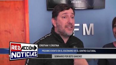 Photo of Redacción Noticias |  SEMINARIO – BETO SANCHEZ PRESENTE EN LAS HERAS SANTA CRUZ