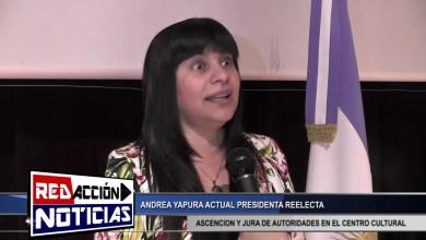 Photo of Redacción Noticias |  ANDREA YAPURA ACTUAL PRESIDENTA REELECTA – LAS HERAS SANTA CRUZ