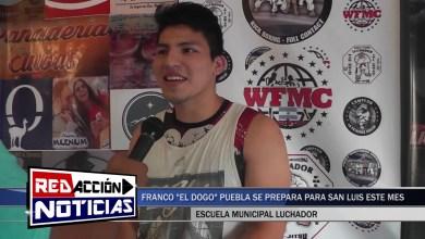 Photo of Redacción Noticias |  FRANCO «EL DOGO» PUEBLA SE PREPARA PARA SAN LUIS ESTE MES – LAS HERAS SANTA CRUZ