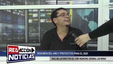 Photo of Redacción Noticias |  RAUL MILLAR – RESUMEN DEL AÑO Y PROYECTOS PARA EL 2020 – LAS HERAS SANTA CRUZ