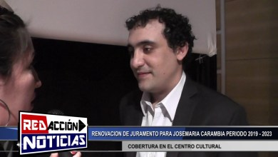Photo of Redacción Noticias |  JOSEMARIA CARAMBIA RENOVACION DE JURAMIENTO  – LAS HERAS SANTA CRUZ