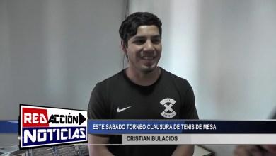 Photo of Redacción Noticias |  CRISTIAN BULACIOS INSTRUCTOR – ESTE SABADO TORNEO TENIS – LAS HERAS SANTA CRUZ